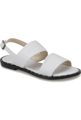 Butigo Keo01Z Beyaz Kadın Sandalet