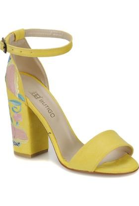 Butigo Lili*51Z Sarı Kadın Sandalet