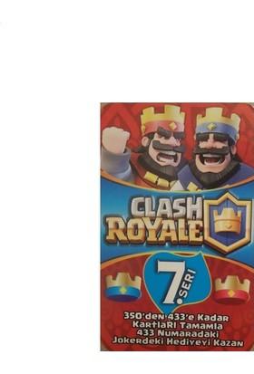 Clash Royale Oyun Kartları 120 x 4'lü Kutu
