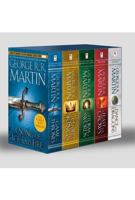 A Game of Thrones Set (5 Kitap) (İngilizce) - George R. R. Martin
