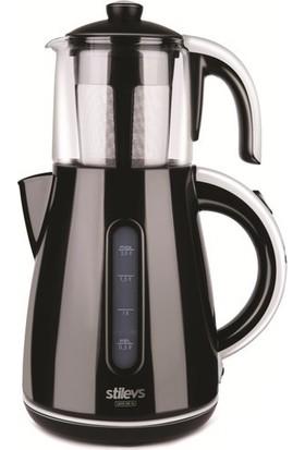 Stilevs Çays Cm-16 Çay Makinesi Siyah&Gri