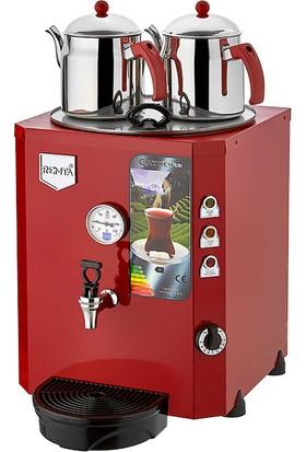 Remta 2 Demlikli Jumbo Çay Makinası Şamandıralı (23 lt)