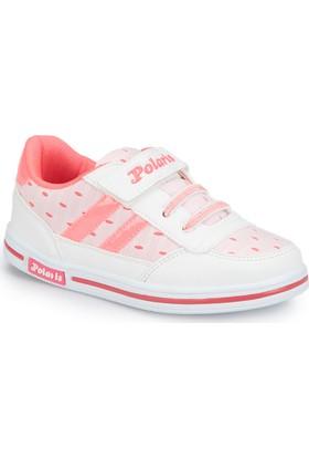 Polaris 81.510347.P Beyaz Kız Çocuk Ayakkabı