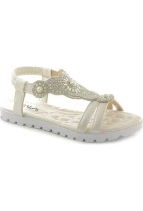 Gala 0045 Günlük Kadın Taşlı Sandalet
