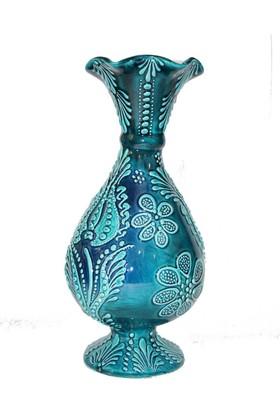 İlbay 30 Cm Tukuaz Marul Çini Vazo