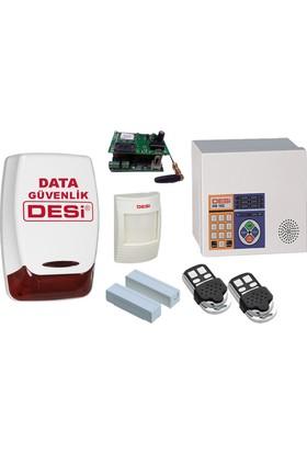 Desi Hs-102 Metaline Gsmli Alarm Sistemi - Data Güvenlik