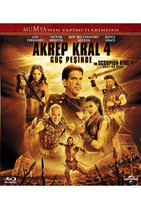 Akrep Kral 4 (The Scorpion King 4 Quest For Power) Blu-Ray
