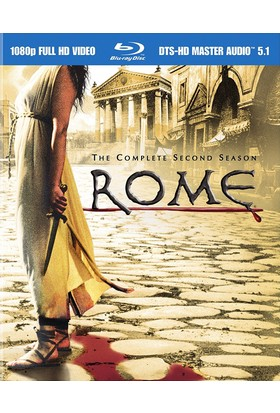 Rome The Complete Second Season Blu-Ray 5 Dısc