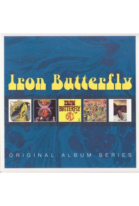 Iron Butterfly - Album Series 5Cd