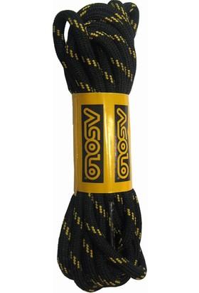Asolo Laces Nero 130 Cm Ayakkabı Bağcığı