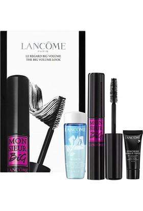 Lancome Monsieur Big Mascara 01 Black + Effacernes Concealer 02 + Bi Facil For Eyes 30 ml Set