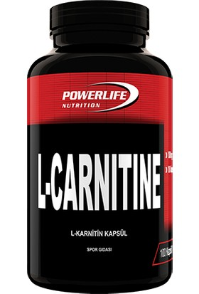 Powerlife L-Carnitine 1000 500 MG 100 Kapsül