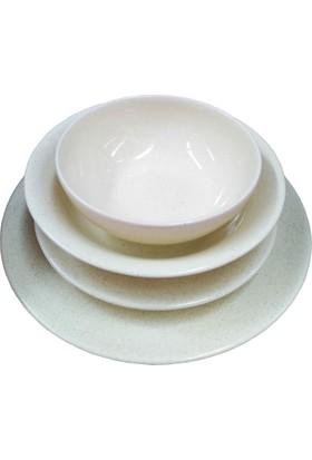 Kütahya Porselen Naturacream Harlek 24 Parça Yemek Takımı HR24Y2148804