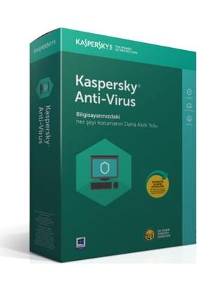 Kaspersky Antivirüs 2018 2 Kullanıcı 1 Yıl