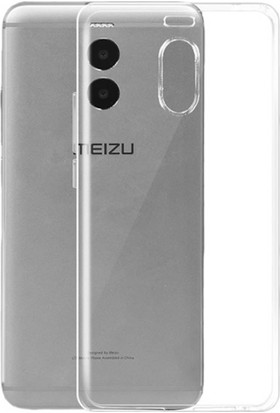 "Microcase Meizu M6 5.2"" İnce Soft Silikon Kılıf + Tempered Glass Cam"