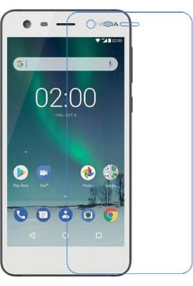Microcase Nokia 2 Tempered Glass Cam Ekran Koruma