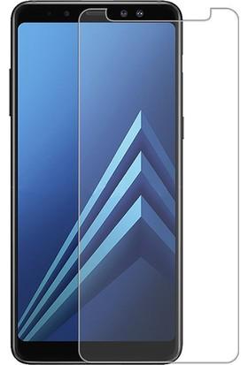Microcase Samsung Galaxy A8 Plus A730F Tempered Glass Cam Koruma
