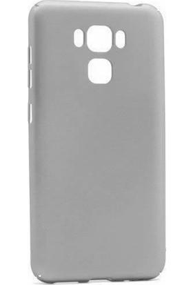 Microcase Asus Zenfone 3 Max ZC553KL Sert Slim Rubber Kılıf + Tempered Cam