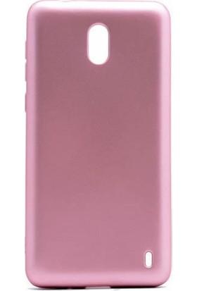 Microcase Nokia 2 Mat Premium Soft Silikon Kılıf + Tempered Cam
