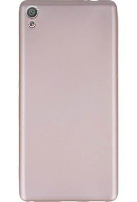 Microcase Sony Xperia XA Ultra Premium Silikon Soft TPU Kılıf + Tempered Cam