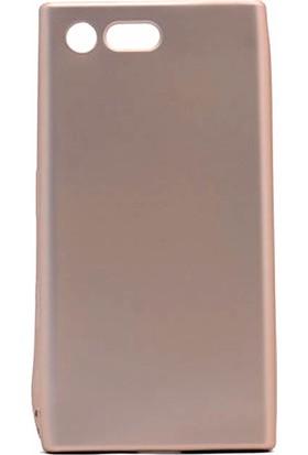 Microcase Sony Xperia X Compact Premium Mat Silikon Kılıf + Tempered Cam