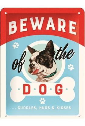 Nostalgic Art Beware Of The Dogs Metal Pano