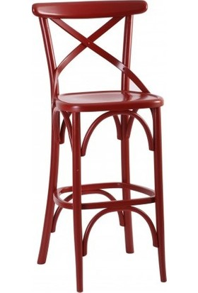 Moda4Home Cross Thonet Bar Sandalyesi