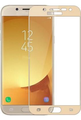 Sunix Samsung Galaxy J3 Pro 3D Kavisli Cam Koruyucu