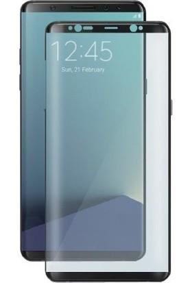 Sunix Samsung Galaxy S8 3D Kavisli Cam Koruyucu Siyah