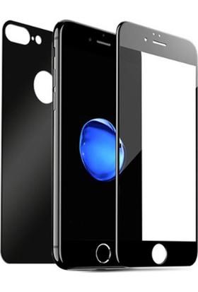 Sunix Apple iPhone 8 Plus 3D Ön Arka Koruyucu Cam Siyah