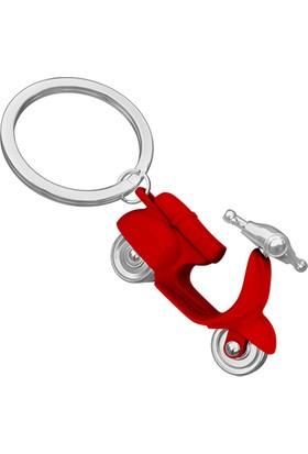 Saygan Scooter Anahtarlık - Kırmızı