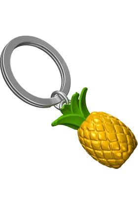 Saygan Ananas Anahtarlık - Sarı-Yeşil