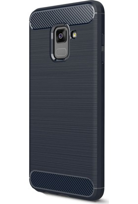 Happyshop Samsung Galaxy A6 2018 Kılıf Ultra Korumalı Room Silikon + Cam Ekran Koruyucu