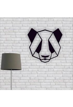 Artmoon Design Panda Metal Tablo Duvar Dekor