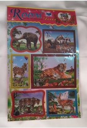 Room Dekor Stickers Hayvan Figürlü