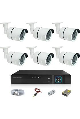 Sapp 6 Kameralı 2Mp Ahd Güvenlik Kamera Sistemi - 177