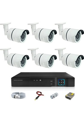 Sapp 6 Kameralı 3Mp Ahd Güvenlik Kamera Sistemi - 177