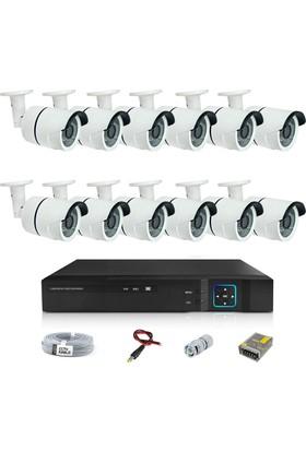 Sapp 12 Kameralı 3Mp Ahd Güvenlik Kamera Sistemi - 177