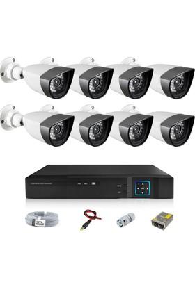 Sapp 8 Kameralı 1.3Mp Ahd Güvenlik Kamera Sistemi - 179