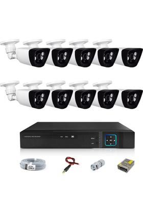 Sapp 10 Kameralı 1.3Mp Ahd Güvenlik Kamera Sistemi - 180