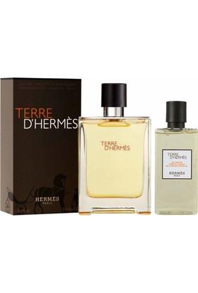 Hermes Terre D'Hermes Edt 100 ml Erkek Parfüm + Duş Jeli 80 ml
