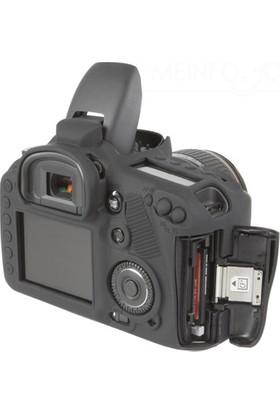EasyCover Canon 7D Silikon Kılıf ECC7DB(Siyah)