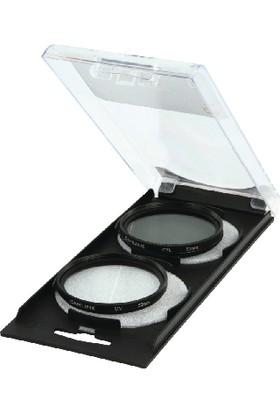 Camlink 52mm UV CPL Polarize Filtre Kit