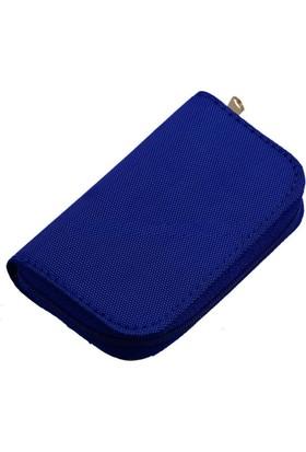 Hafıza Kartı Taşıma Çantası & Kılıfı ( Mavi )