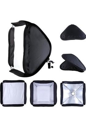 Tepe Flaşı Softbox 60cm Katlanabilir