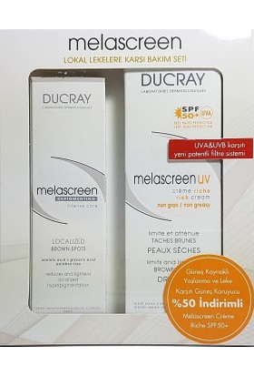 Ducray Melascreen Depigmentant and Creme Rich Kofre