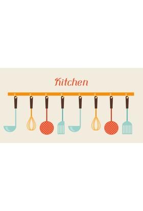 Digisamur Bukle Kitchen Mat - Mutfak Halısı 907 - 80x150 cm.