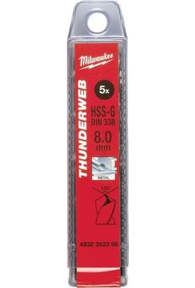 Milwaukee Metal Matkap Ucu Thunderweb Seri 7,5 X 109 mm 5'li