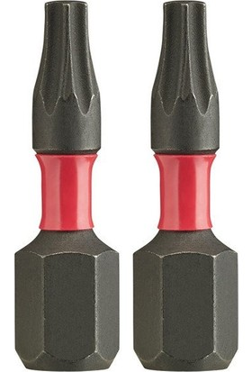 Milwaukee Vidalama Bits Ucu (2'li Paket) TX30 (A) 25mm