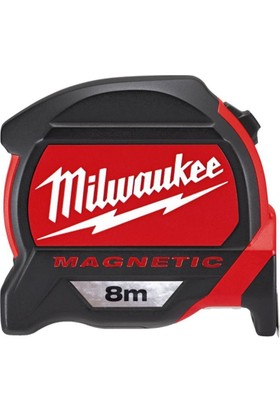 Milwaukee Birinci Sınıf Manyetik Şerit Metre 8 mt.